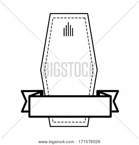 geometric label decorative ribbon icon vector illustration eps 10