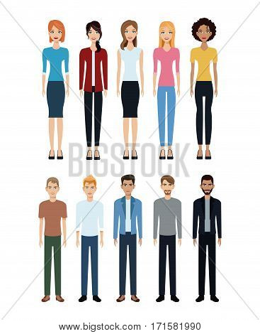 group people diverse community social vector illustration eps 10
