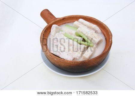 Chinese food is taro