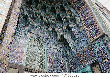Saint Petersburg Mosque In Russia