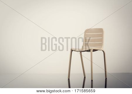 One Chair On The Floor