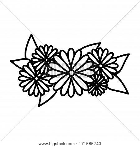 flowers icon stock image, vector illustration design