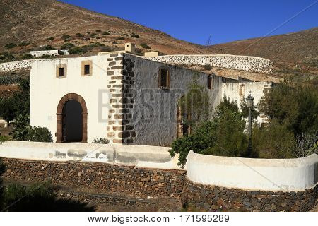 Ruins Of The Iglesia Conventual De San Buenaventura Church, Fuerteventura