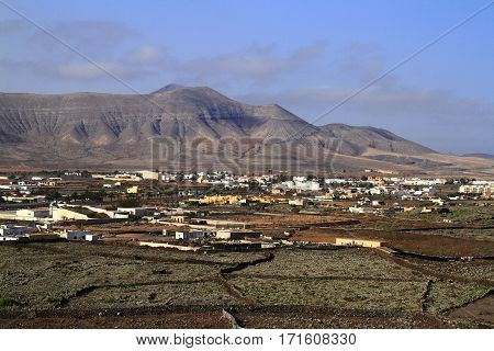 Beautiful Village On Fuerteventura, Canary Islands