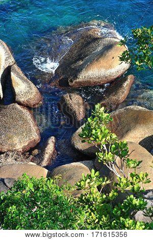 Andaman coast at Similan Island National park Thailand