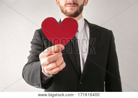 Man wants to give you his heart