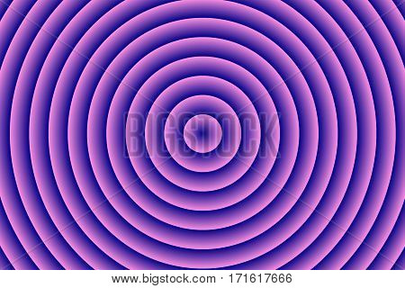 Illustration of purple and dark blue concentric circles