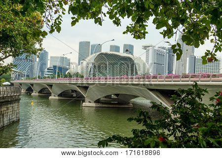 Architectural monuments and places of interest in Singapore