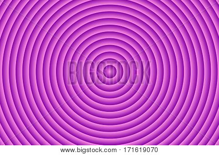 Illustration of pink and purple concentric circles