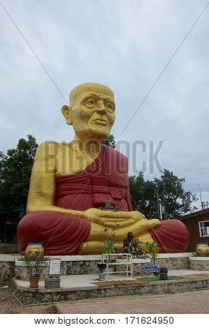 Big Buddha statue on Koh Lan, Thailand