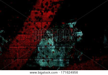 Abstract, abstraction background, art background, black and red abstract. Artistic abstraction. Grunge. Grunge background. Dark background. Grunge style. Surreal background.