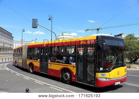 Warsaw City Bus