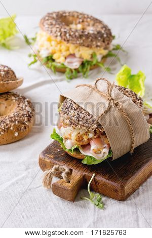 Whole Grain Bagels