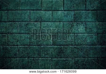 Brick background.Grunge brick wall. Brick, brick wall texture, brick wall background. Grunge.  Grunge background. Dark background. Grunge style.  Blue grunge.