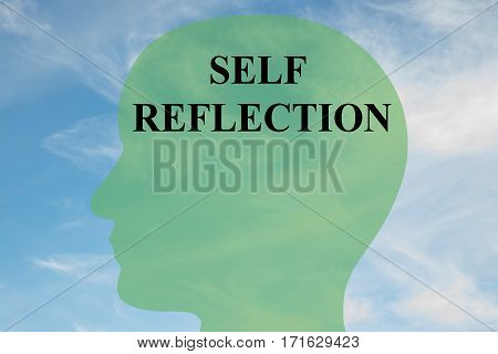 Self Reflection Concept