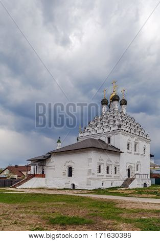 Church of St. Nicholas on Posad is one of the oldest churches in Kolomna Russia