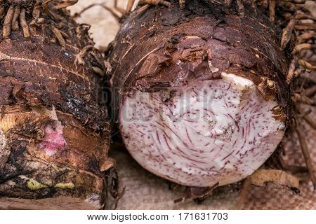 Yam Sold On African Market