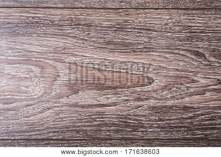 Wooden old vintage blank background .Brown wood texture. Abstract background empty template. Top View of retro Wooden Table