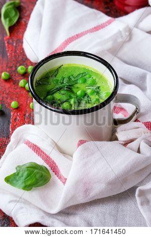 Pea Cream Soup
