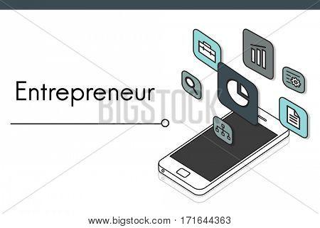Business Venture Target Goals Expansion Entrepreneur