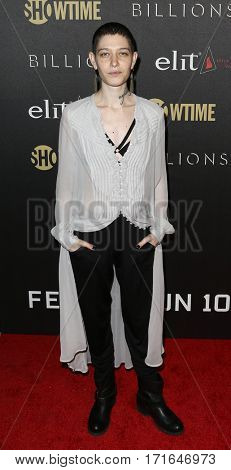 Actress Asia Kate Dillon attends the