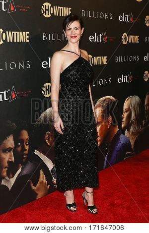 Actress Maggie Siff attends the