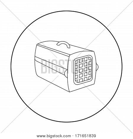 Pet case icon of vector illustration for web and mobile design