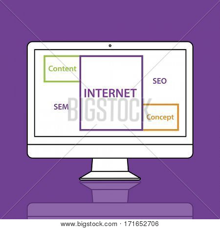 Internet SEO Content Word Boxes