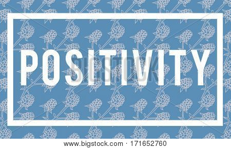 Freedom Chill Positivity Graphic Word