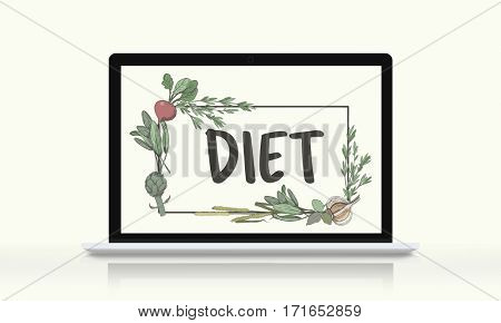 Diet Healthy Natural Recipe Wellness Food Concept