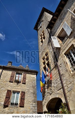 Martel, a small and lovely medieval town in the famous and touristic area of Dordogne river.