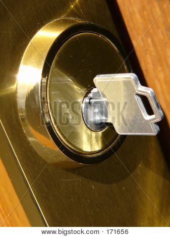 Key And Door Lock