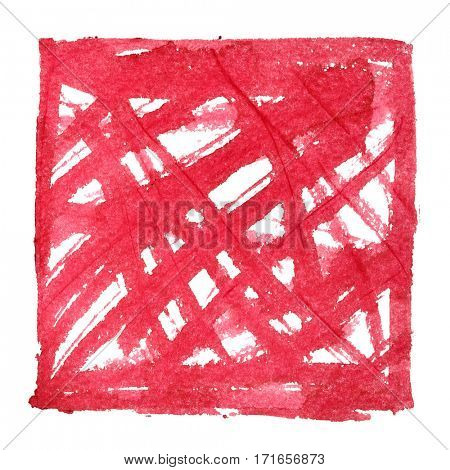 Red abstract background with doodle - space for your own text - raster illustration