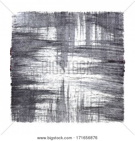 Gray abstract background with strokes -  space for your own text - raster illustration