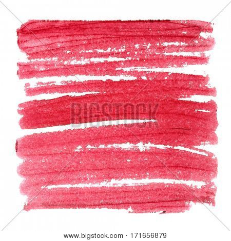 Red abstract background with thick strokes - space for your own text - raster illustration
