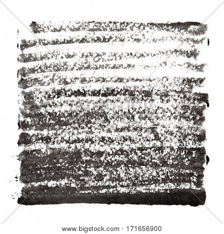 Black abstract background with thick strokes - space for your own text - raster illustration