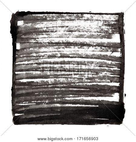 Black abstract background with frame and shading - space for your own text - raster illustration
