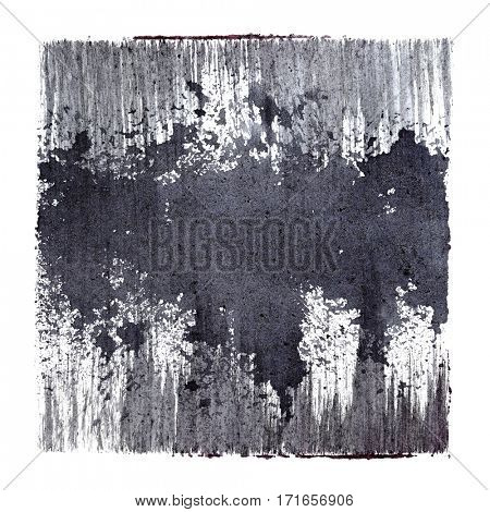 Gray abstract background with blots -  space for your own text - raster illustration