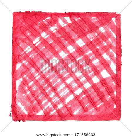 Red abstract background with shading - space for your own text - raster illustration