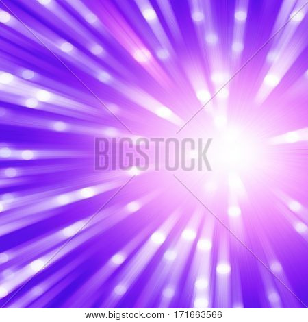 Abstract background with bokeh in motion blur.