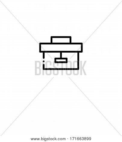 Repair icon. Construction single high quality outline symbol for web design or mobile app. Thin line sign for design logo. Black outline pictogram on white background