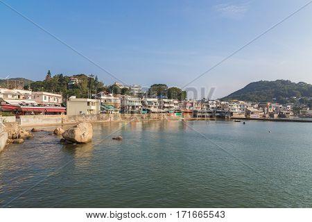 View Of Yung Shue Wan Lamma Island