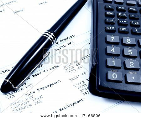 Balancing The Pay Slip