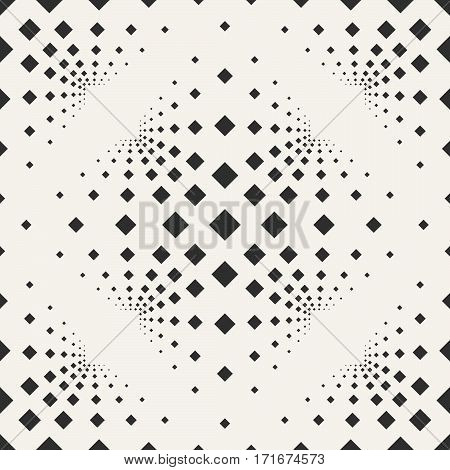 Seamless Background With Squares On A Beige Background.
