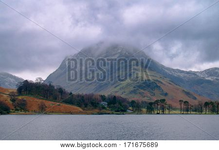 Buttermere and Honister Pass Lake District England