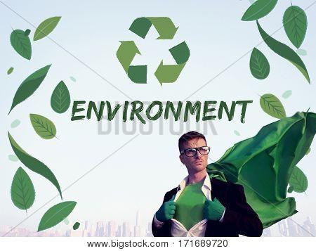 Organic Environment Save Earth Icon