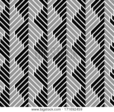 Abstract geometric seamless pattern with repeating texture