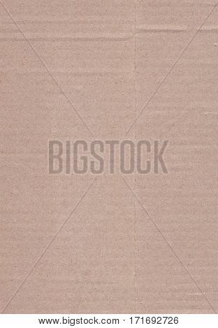 Paper texture cardboard background. Brown cardboard background
