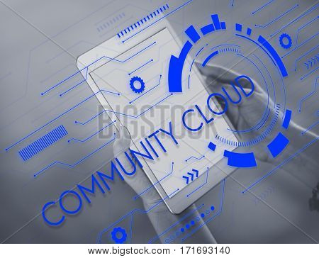 Community Cloud Storage Sync Secure