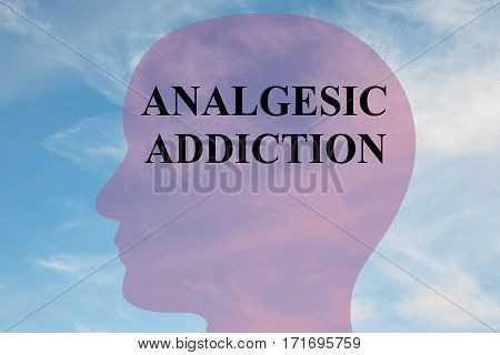 Analgesic Addiction Concept